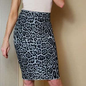 BCBG Max Azria Body Skimming Pencil Skirt, Size S